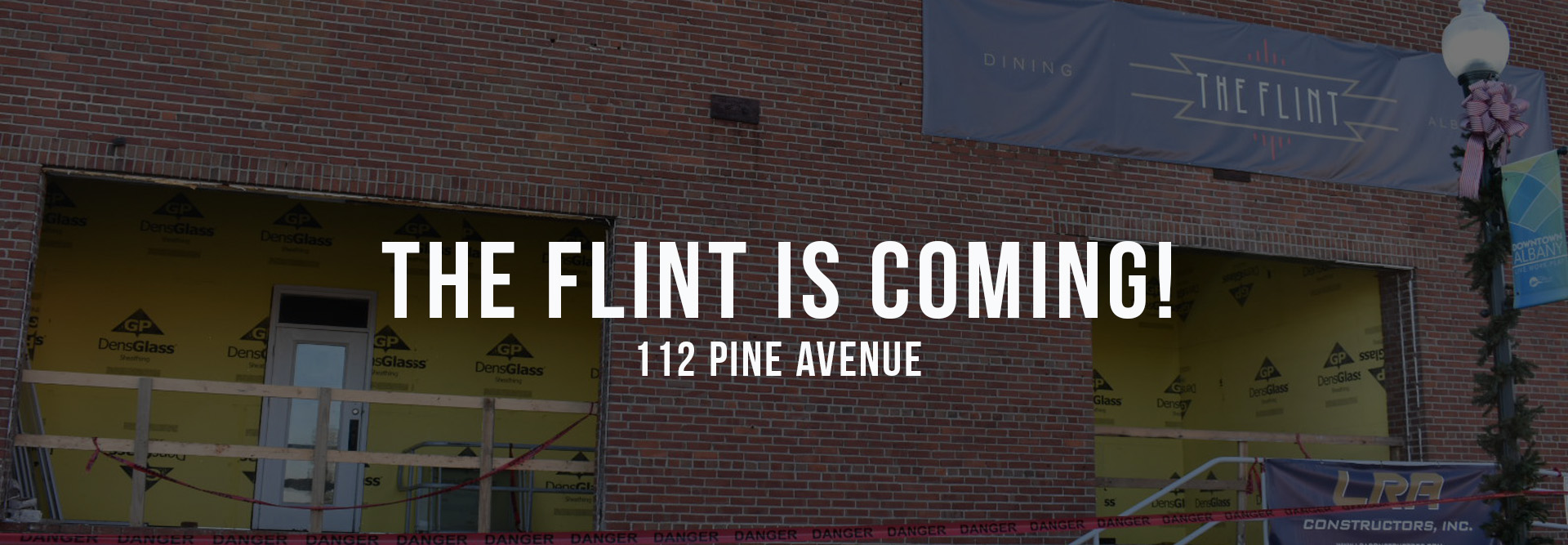 The Flint-homepage
