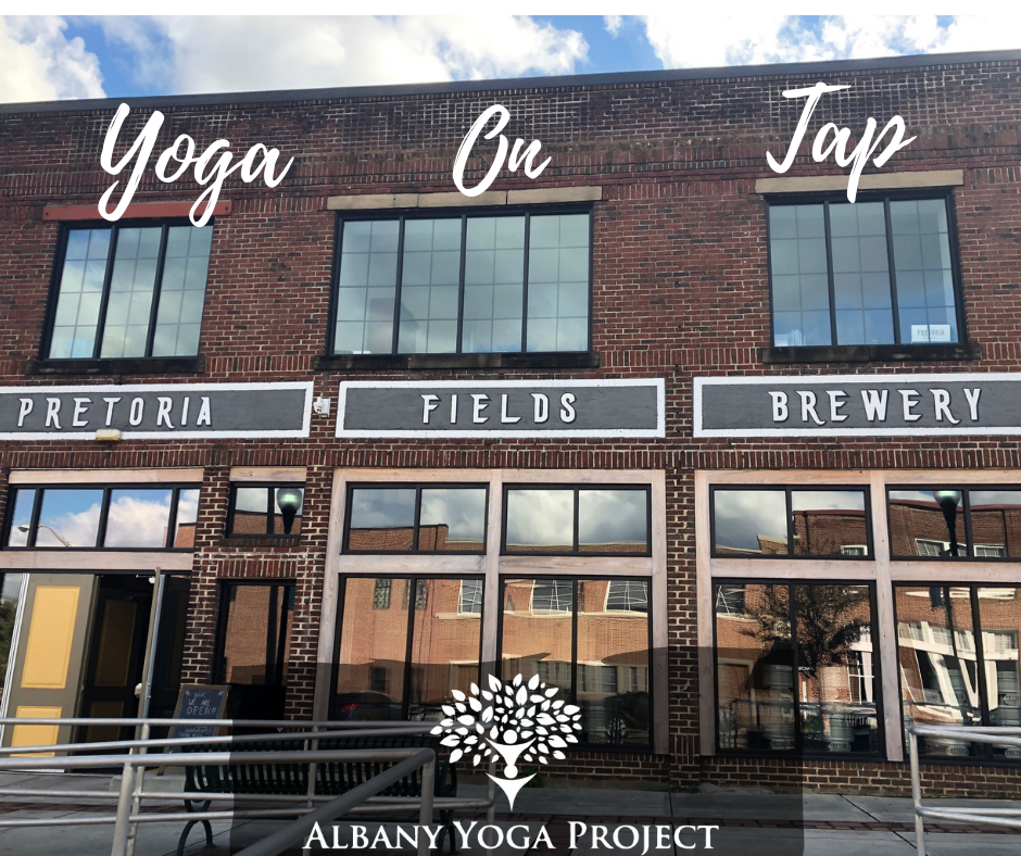 Yoga On Tap Albany Yoga Project